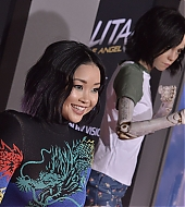 Alita: Battle Angel premiere